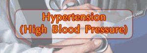 Hypertension - physiotreatments